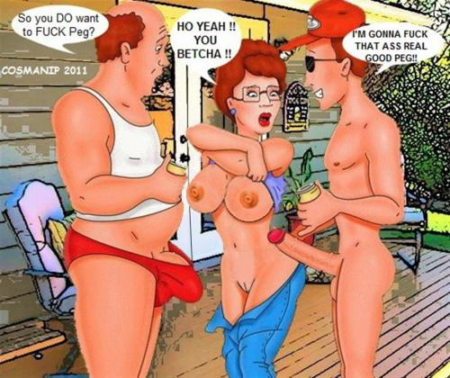 from Hank oral sex peggy hill